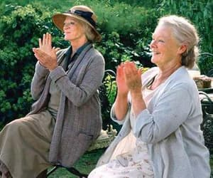 maggie smith, ladies in lavender, and judi dench image