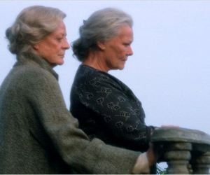 maggie smith, judi dench, and ladies in lavender image