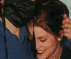 michael jackson and lisa marie presley image