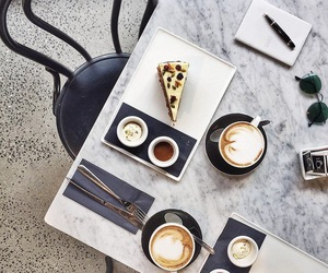 food, coffee, and style image