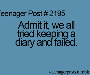 diary, teenager post, and funny image