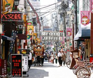 japan, nihon, and streets image