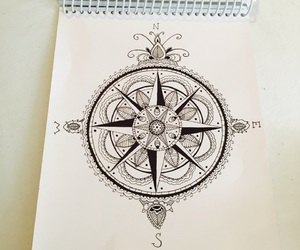 adventure, art, and compass image