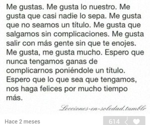 frases de amor, me gustas, and spanish quotes image