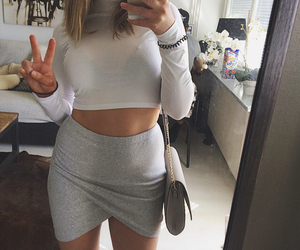cozy, summer, and outfit image