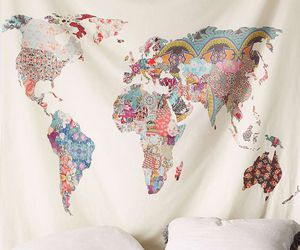 tapestry and world image