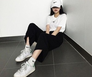 asian, ulzzang, and white image