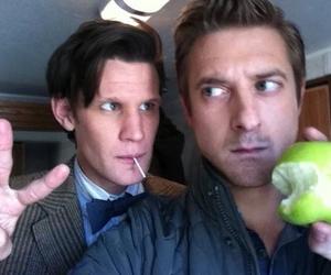 doctor who, matt smith, and arthur darvill image