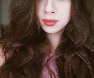 hair and giř image