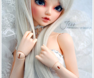 doll, pretty, and bjd image
