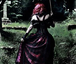 gothic, goth, and umbrella image