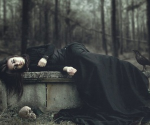 gothic, dark, and goth image