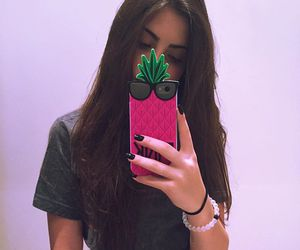 girl, jade picon, and pink image