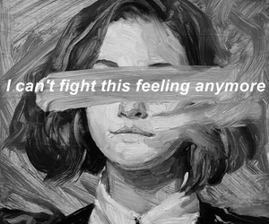 quotes, sad, and art image