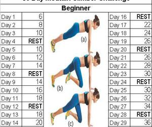 body, challange, and fitness image