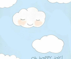 clouds, happy, and day image