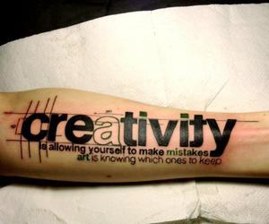 tattoo, creativity, and art image