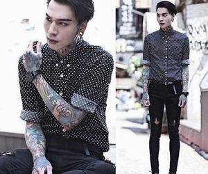 fashion, asian, and boy image