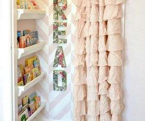 books, closet, and girly image