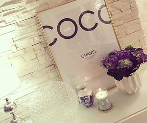chanel, decor, and coco image