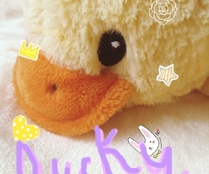 aesthetic, duck, and pale image