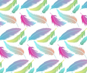 background, feathers, and wallpaper image