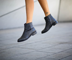 ankle boots, boots, and etsy image