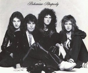 music, Queen, and bohemian rhapsody image