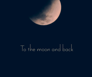 moon, quote, and wallpaper image