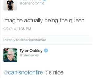 tyler oakley, Queen, and danisnotonfire image