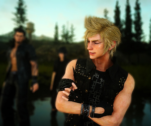 omfg, final fantasy xv, and prompto argentum image