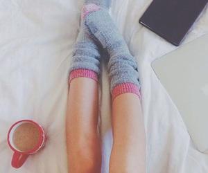 coffee and socks image