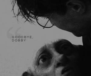 harry potter, dobby, and goodbye image