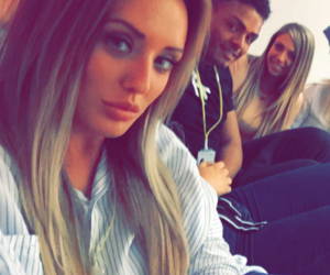nathan, geordie shore, and holly hagan image