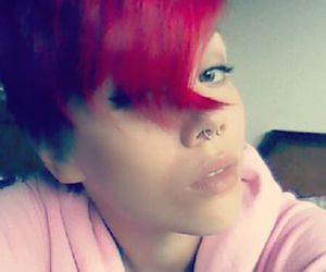 pixiecut, girls with short hair, and Piercings image