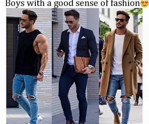 fashion, boy, and Hot image