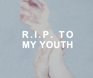 rip, youth, and grunge image
