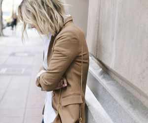 blonde, chic, and city image