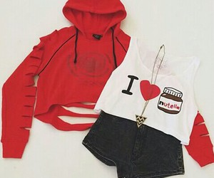 nutella, outfit, and casual image