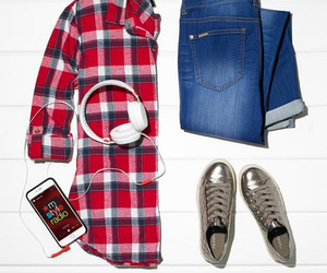 denim, macys, and back to school image