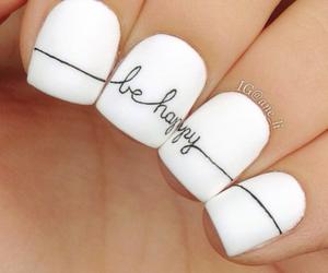 nails, be happy, and short image