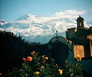 church, mexico, and landscape image