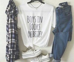 outfit, style, and jeans image