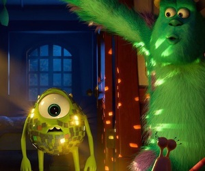 monster, disney, and monsters inc image