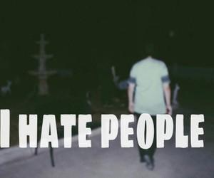 angry, people, and sad image