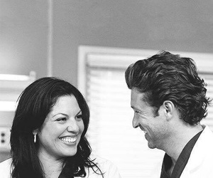 grey's anatomy, derek shepherd, and callie torres image