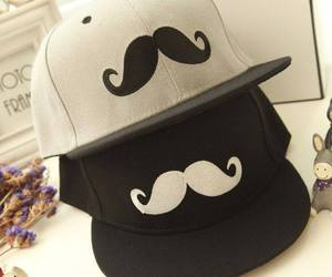 cap and mustache image