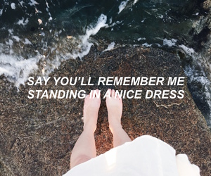 Taylor Swift, dress, and Lyrics image