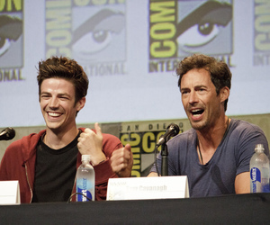 cast, the flash, and reverse flash image