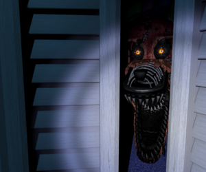 foxy, nightmare, and five nights at freddys image